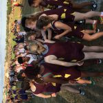 West Allis Central Girls Junior Varsity Cross Country run at Mukwonago