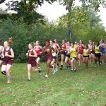 West Allis Central Girls Varsity Cross Country Compete at Woodland Conference Championship