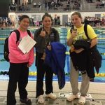 West Allis Central Girls Varsity Swimming Compete at Woodland Conference Championships
