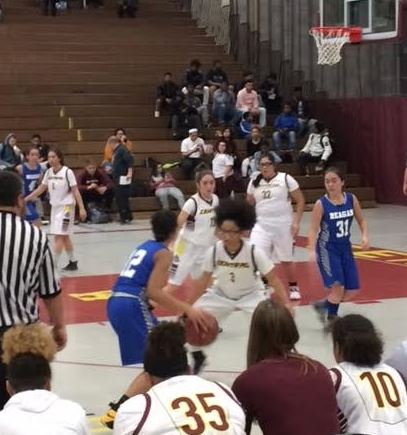 West Allis Central High School Girls Freshman Basketball beat Ronald Reagan College Prep 49-21