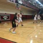 Central Girls Junior Varsity Basketball falls to South Milwaukee