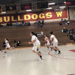 Central Girls Junior Varsity Basketball fall to Eisenhower