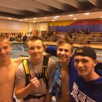 Boys Varsity Swimming finishes 2nd place at Milwaukee Riverside Invite
