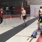 Boys Varsity Track compete at Johnson Indoor Invite