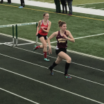 Central Girls Varsity Track Compete at Wauwatosa West Invite