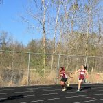 Central Girls Varsity Track Compete at Woodland Conference Championships