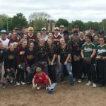 Central Softball and Baseball Out in the Community!
