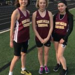 Central Girls Junior Varsity Track Compete at Woodland Conference JV Outdoor Championships