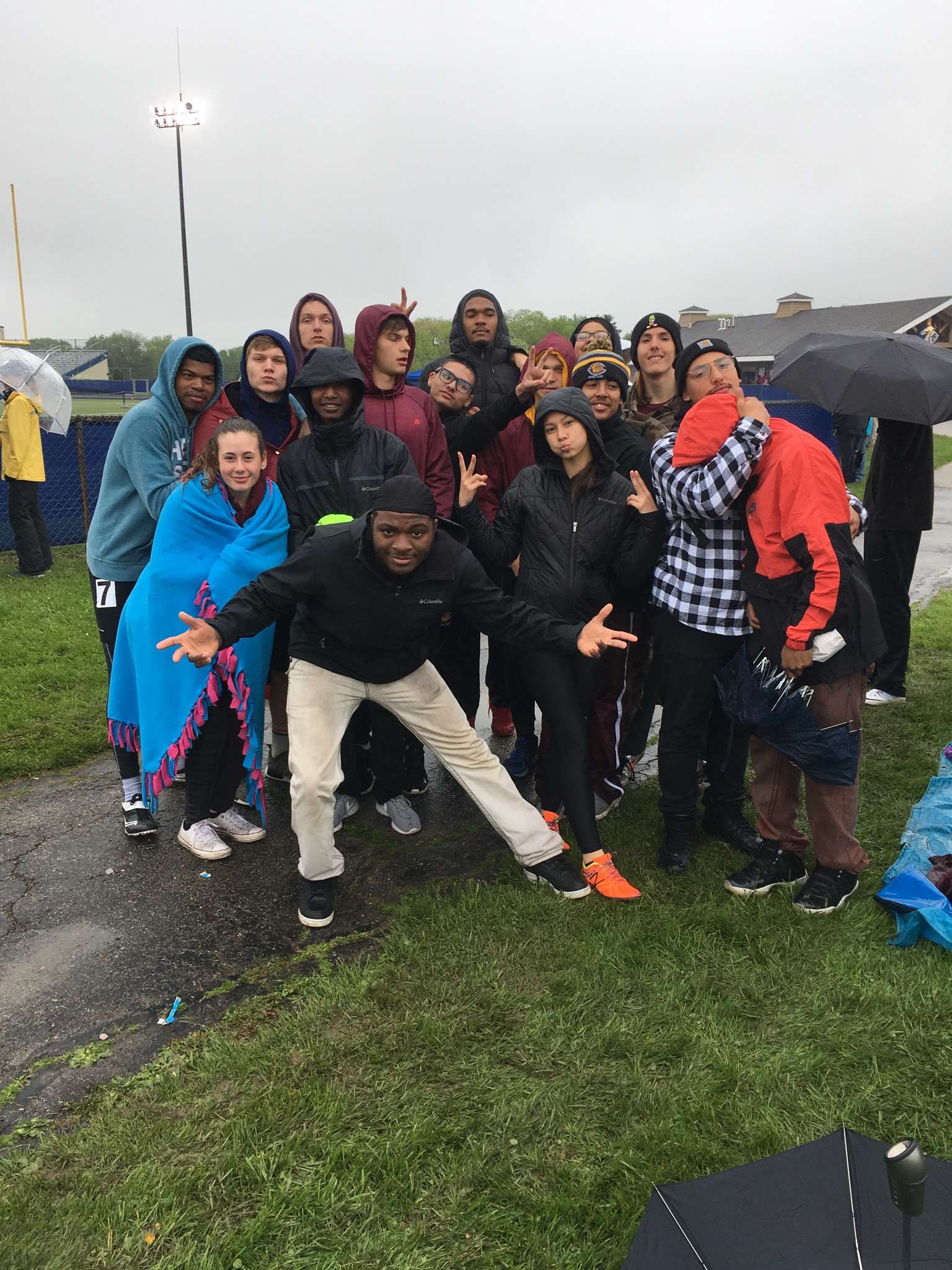Central Boys Varsity Track Compete at WIAA Track Regional