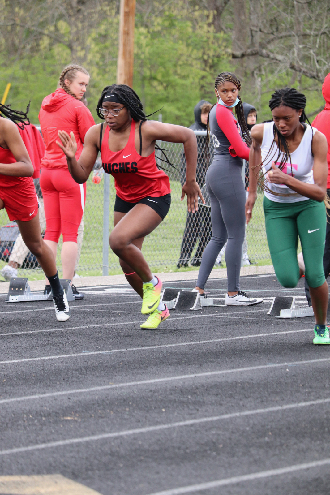 Hughes Springboro Varsity Track Meet 5/4