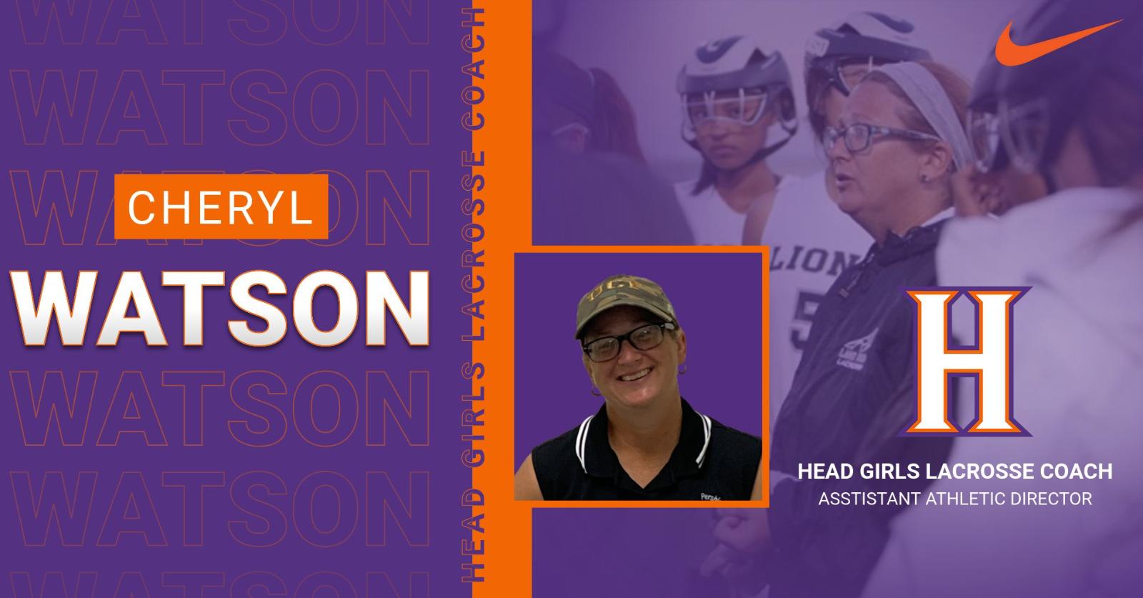 *Welcome* Coach Cheryl Watson