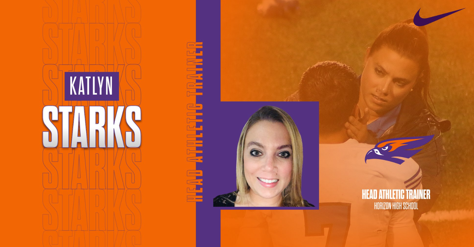 *Welcome* Coach Katelyn Starks