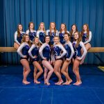 Lee-Davis High School Girls Varsity Gymnastics finishes 2nd place