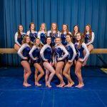 Lee-Davis High School Girls Varsity Gymnastics finishes 4th place