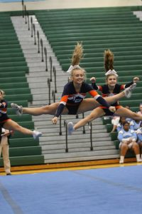 Varsity Competition Cheer on Oct. 4th at Hanover