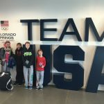 Olivia Morrison trained at the U.S. training center in Colorado Springs over the Christmas break