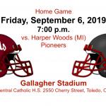 Fighting Irish take on Harper Woods (MI) at Home on Fri., Sept. 6 at 7PM