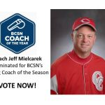 Coach Jeff Mielcarek nominated for BCSN's Spring Coach of the Season – VOTE NOW #GoFarGoIrish