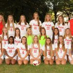 Lady Irish Soccer team in District Finals this Saturday, October 28 vs Lake at Lake #GoFarGoIrish