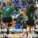 The Lady Irish Volleyball Team have a huge home game vs NDA this Thursday #GoFarGoIrish