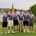 Fighting Irish Golf Team finished 3rd at TRAC Championship, Grombacher named TRAC Golfer of the Year #GoFarGoIrish