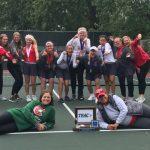 Lady Irish Tennis captured third consecutive team TRAC Championship