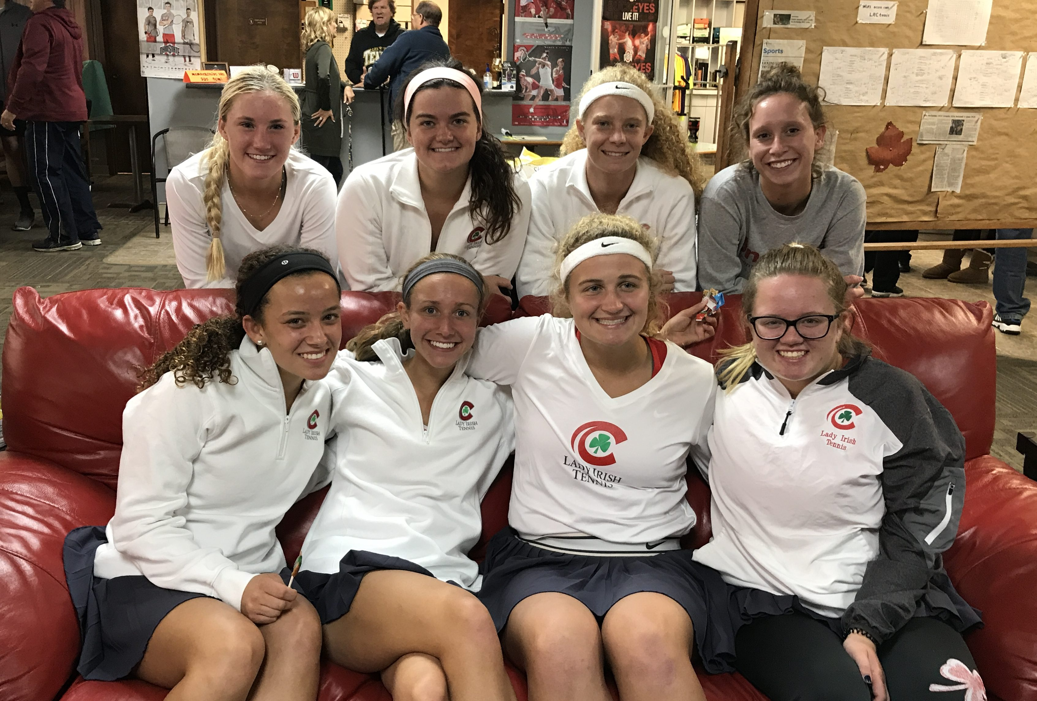 Lady Irish Tennis Team Return to the State Final Four