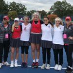 Lady Irish Tennis Team – State Tennis Results Day 1