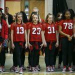 Irish Dance Team at the Boys Basketball game vs. St. Francis de Sales 2019