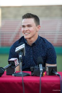 Jase Bowen Drafted by Pittsburgh Pirates – Press Conference