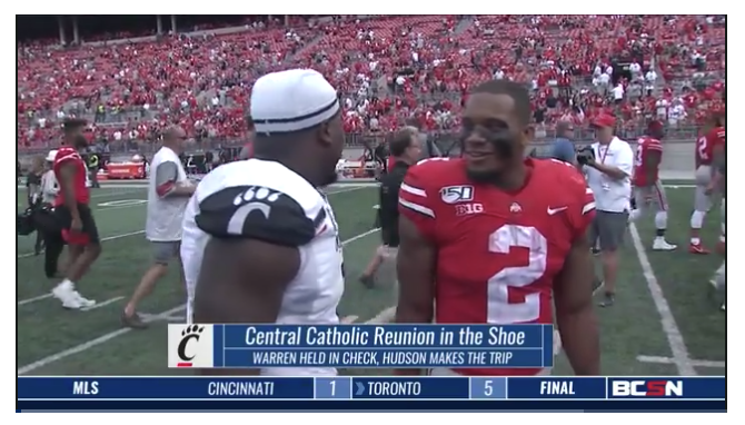 BCSN Video: Central Catholic Reunion in the Shoe