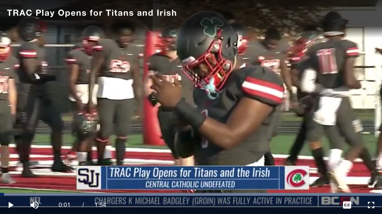 BCSN Video: Central Catholic and St. John's Prepare for TRAC Opener
