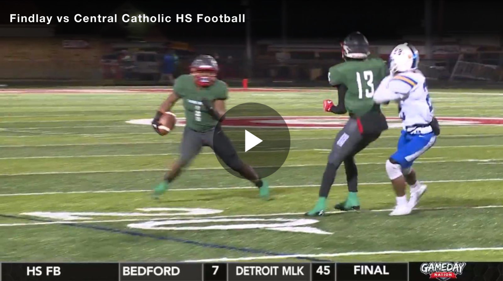 BCSN Video: Central Catholic Beats Up on Findlay