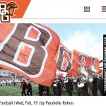 Alumni News – BGSU Linebacker Justin Schiets wins Bob Eberly DSS from National Football Foundation