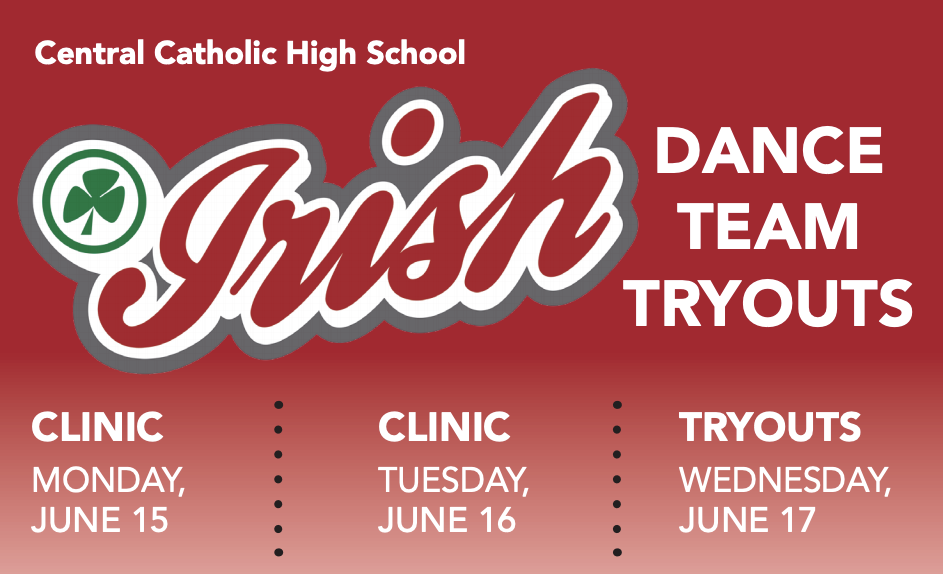 Irish Dance Team Tryouts – Clinics June 15 & 16 with Tryouts June 17