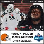 Alumnus James Hudson Selected by Cleveland in 4th Round of 2021 NFL Draft