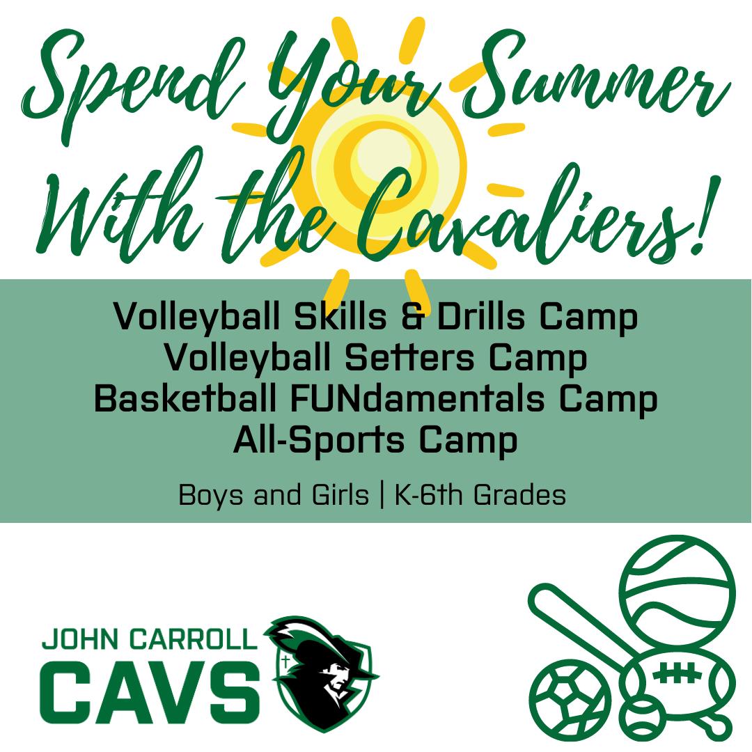 JCCHS Announces Summer Camp Schedule!