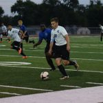 Boys soccer opens season with Blue/White scrimmage