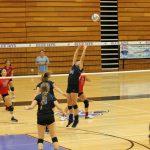 Junction City High School Girls Varsity Volleyball beat Highland Park High School 1-0