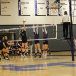 Junction City High School Girls Varsity Volleyball beat Topeka West High School 1-0
