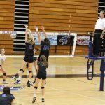 Junction City High School Girls Varsity Volleyball falls to Hayden High School 1-0