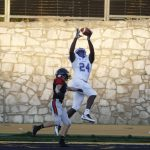 Defense forces eight turnovers, Blue Jays cruise to 47-0 win over Emporia