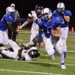 Blue Jay escape slugfest with Topeka High, 26-21
