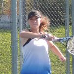 Lady Jay Tennis Travels to Salina