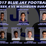 Players of the Week for Washburn Rural