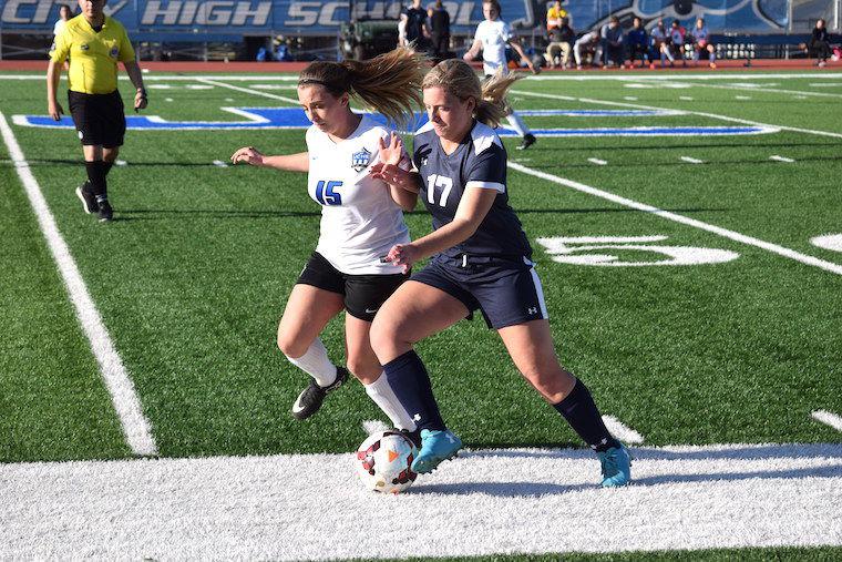 Junction City High School girls soccer team displays strong defense in loss to Hayden