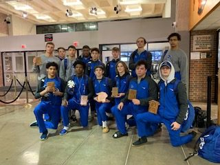 BlueJays Place 7 Individuals in Route to 3rd Place Team Finish