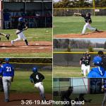 BlueJays take TWO in McPherson Quad!!!