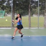 Lady Jay Tennis Centennial League Results