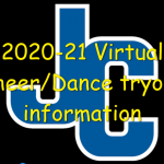 Cheer/Dance Virtual Tryout Information – 2020-21 school year